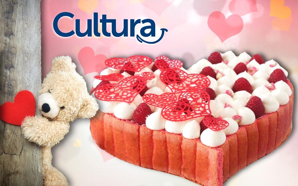 La Charlotte Cœur avec Cultura pour la Saint Valentin