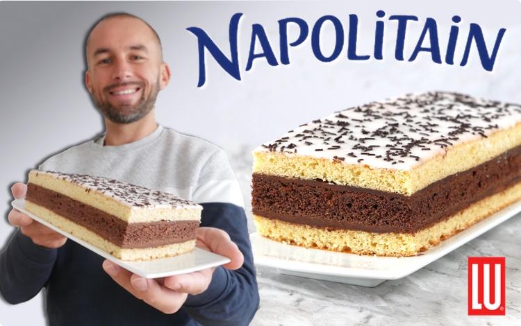Le Défi de Lu:  Réaliser un Napolitain XXL