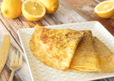 Crêpes Citron Gingembre
