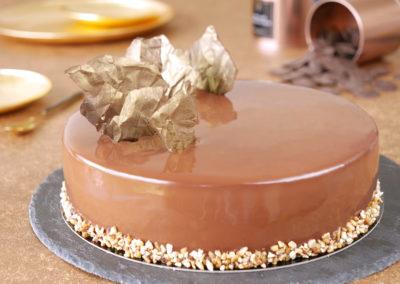 Entremets Chocolat Caramel