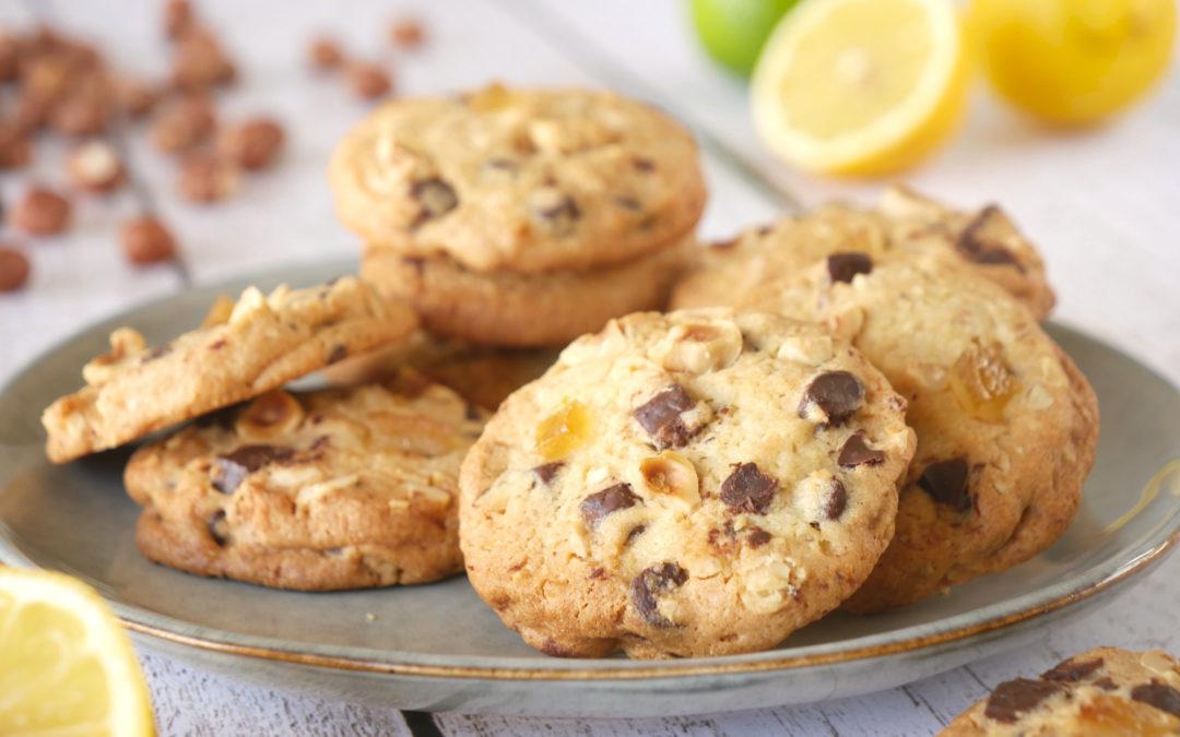 Cookies Choco Noisette & Citron